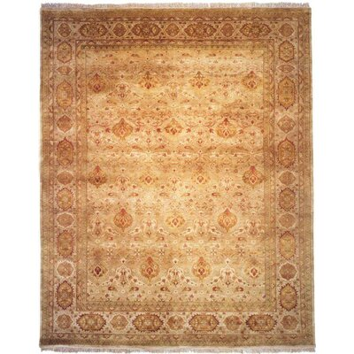 Bose Hand-Woven Brown Area Rug Rug Size: 6 x 9