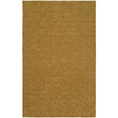 Brar Hand-Woven Brown Area Rug Rug Size: 9 x 12