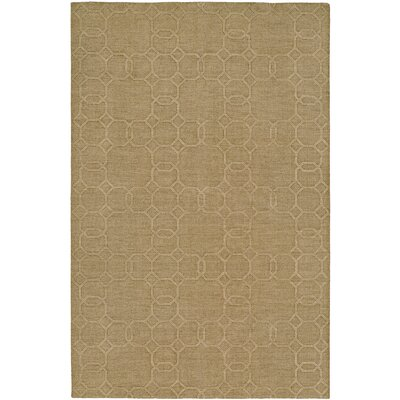 Buch Hand-Woven Beige Area Rug Rug Size: 5 x 8