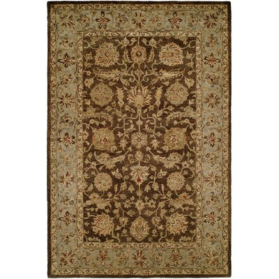 Butala Hand-Woven Brown Area Rug Rug Size: Rectangle 9 x 12