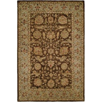 Butala Hand-Woven Brown Area Rug Rug Size: 36 x 56