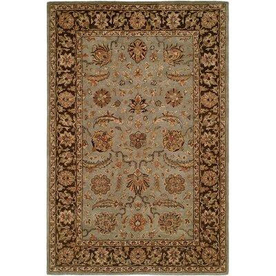 Chacko Hand-Woven Brown Area Rug Rug Size: 96 x 136