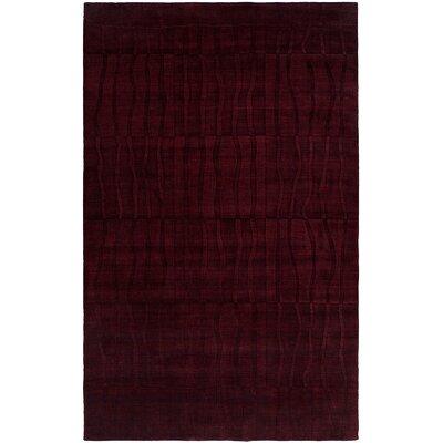 Chakrabarti Hand-Woven Purple Area Rug Rug Size: 6 x 9