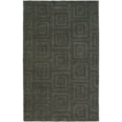 Chander Hand-Woven Gray Area Rug Rug Size: 96 x 136