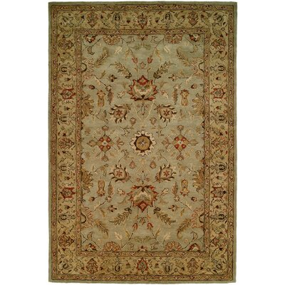 Chandra Hand-Woven Brown Area Rug Rug Size: 5 x 8
