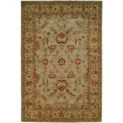 Chandra Hand-Woven Brown Area Rug Rug Size: 96 x 136