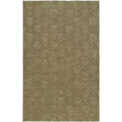 Char Hand-Woven Beige Area Rug Rug Size: 96 x 136