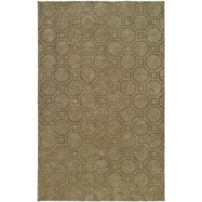 Char Hand-Woven Beige Area Rug Rug Size: 5 x 8