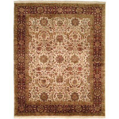 Chaudhry Hand-Woven Brown Area Rug
