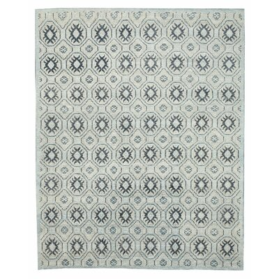 Hand Knotted Blue Area Rug