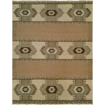 Weipa Beige/Brown Area Rug Rug Size: Runner 26 x 10