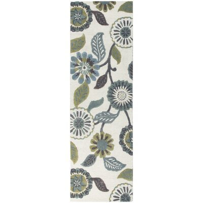 Willemstad Hand-Tufted Area Rug Rug Size: Runner 26 x 8