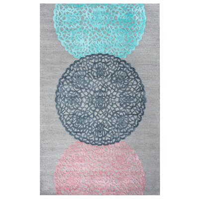 Dun Hand-Tufted Area Rug Rug Size: Rectangle 3 x 5