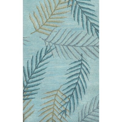 Umred Hand-Tufted Light Blue Area Rug Rug Size: 5 x 8