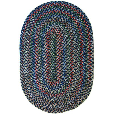 Rehli Blue Indoor/Outdoor Area Rug Rug Size: Oval 3 x 5