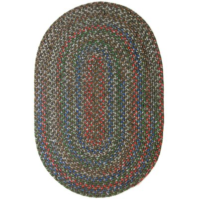 Reengus Brown/Red Indoor/Outdoor Area Rug Rug Size: Oval 2 x 4
