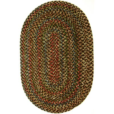 Renukoot Brown Indoor/Outdoor Area Rug Rug Size: Oval 3 x 5