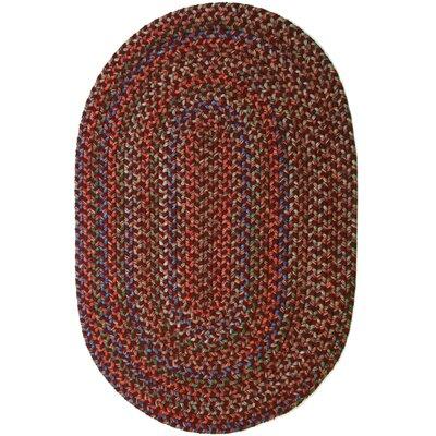 Rayada Red Indoor/Outdoor Area Rug Rug Size: Oval 2 x 4