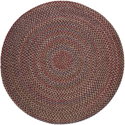 Rayada Red Indoor/Outdoor Area Rug Rug Size: Round 6