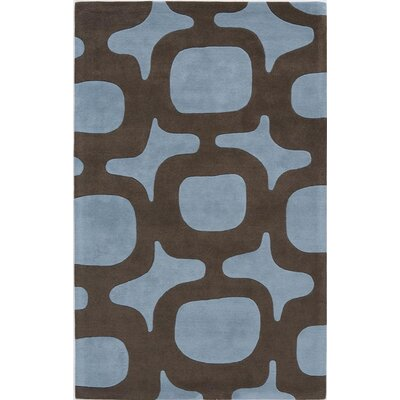 Surandai Hand-Tufted Blue Area Rug Rug Size: 7 x 9