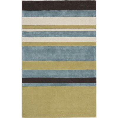 Takhatgarh Hand-Tufted Yellow Area Rug Rug Size: 5 x 8