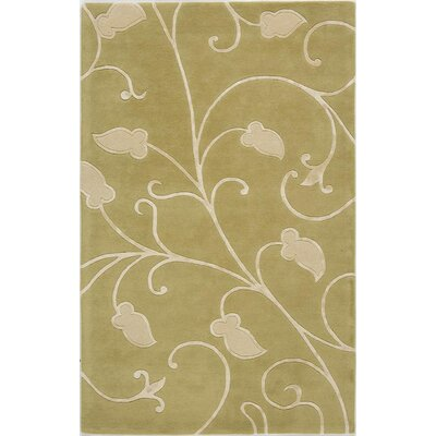 Taraori Hand-Tufted Green Area Rug Rug Size: Runner 23 x 8