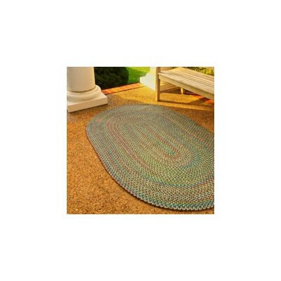 Ron Green Indoor/Outdoor Area Rug Rug Size: Oval 7 x 9
