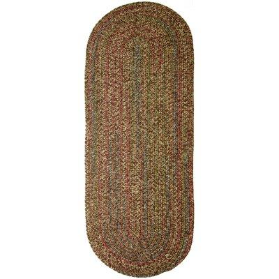 Valla Brown Indoor/Outdoor Area Rug Rug Size: Oval Runner 2 x 8