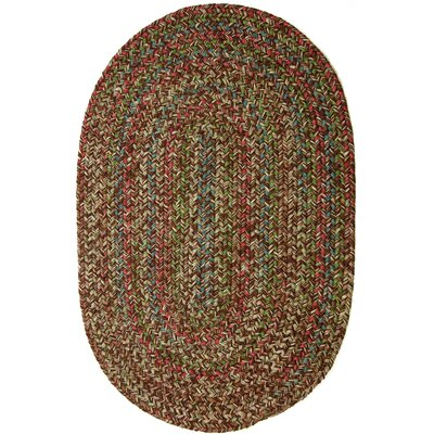 Valla Brown Indoor/Outdoor Area Rug Rug Size: Oval 4 x 6