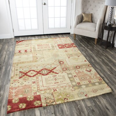 Trabzon Hand-Knotted Area Rug Rug Size: Rectangle 2 x 3