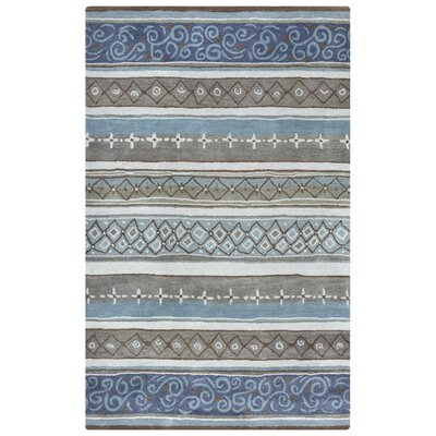 Plata Hand-Tufted Area Rug Rug Size: Rectangle 5 x 8