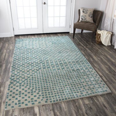 Uchgaon Hand-Tufted Beige Area Rug Rug Size: Rectangle 2 x 3