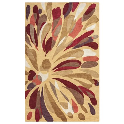 Burgas Hand-Tufted Area Rug Rug Size: Rectangle 5 x 8