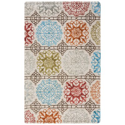 Buffalo Hand-Tufted Area Rug Rug Size: 5 x 8