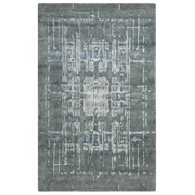 Dominican Hand-Knotted Gray Area Rug Rug Size: Rectangle 2 x 3