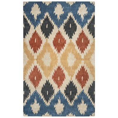 Portsmouth Hand-Tufted Area Rug Rug Size: Rectangle 5 x 8
