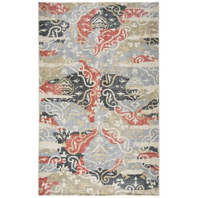 Christi Hand-Knotted Area Rug Rug Size: Rectangle 5 x 8