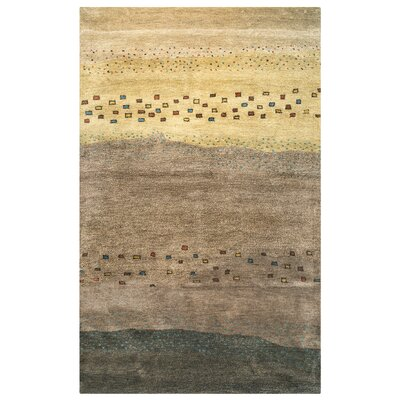 Morocco Hand-Tufted Beige Area Rug Rug Size: Rectangle 8 x 10