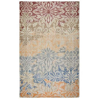 Dublin Hand-Knotted Area Rug Rug Size: Rectangle 5 x 8