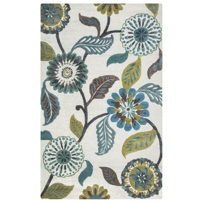 Willemstad Hand-Tufted Area Rug Rug Size: Rectangle 5 x 8