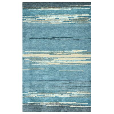 Guiana Hand-Tufted Blue Area Rug Rug Size: Rectangle 2 x 3