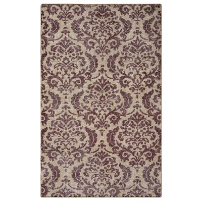 Datca Hand-Knotted Beige/Gray Area Rug Rug Size: Rectangle 8 x 10