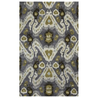 Thessaloniki Hand-Tufted Gray/Beige Area Rug Rug Size: Rectangle 9 x 12