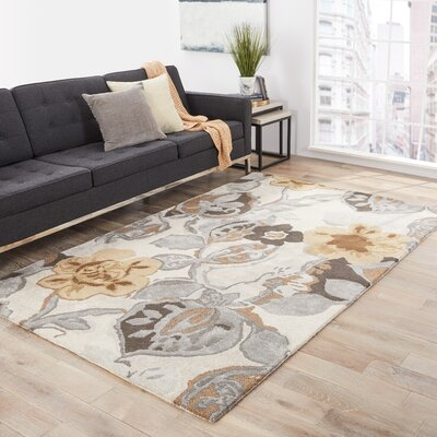 Hand-Woven Area Rug Rug Size: Rectangle 36 x 56