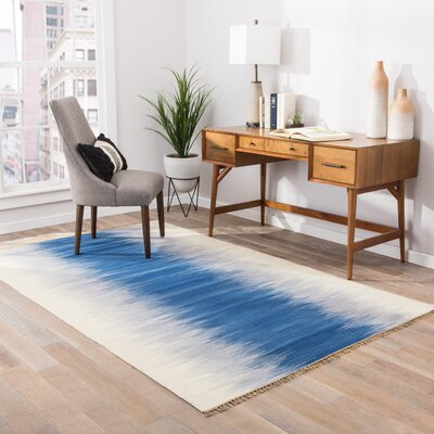 Pilani Blue Area Rug Rug Size: Rectangle 8 x 10