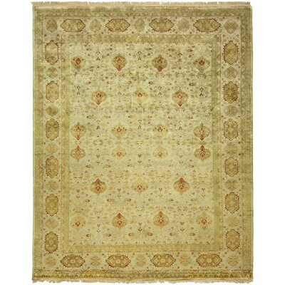 Bose Hand-Woven Brown Area Rug Rug Size: 8 x 10