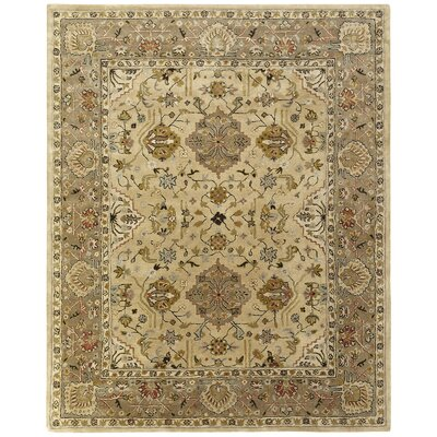 Boase Hand-Woven Beige/Brown  Area Rug Rug Size: Rectangle 9 x 12