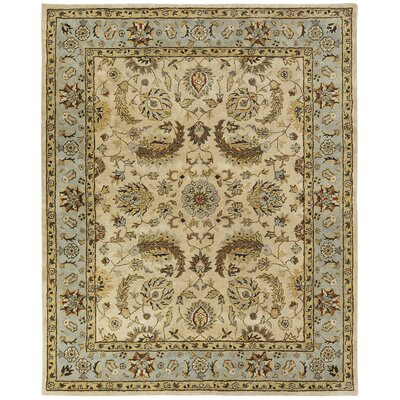 Bora Hand-Woven Beige Area Rug Rug Size: Rectangle 36 x 56