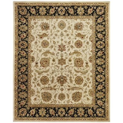 Chad Hand-Woven Brown/Beige Area Rug Rug Size: Rectangle 96 x 136