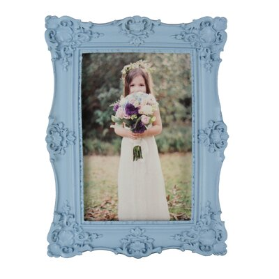 Resin Picture Frame Color: Blue RF15003BL
